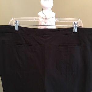 Style & Co Pants - Black snap zippered dress pants size 16